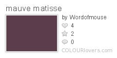 mauve_matisse