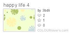 happy life 4