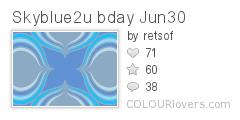 Skyblue2u bday Jun30