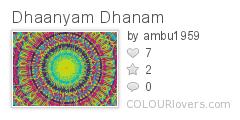 Dhaanyam_Dhanam