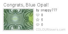 Congrats_Blue_Opal!