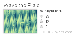 Wave_the_Plaid