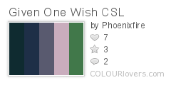 Given_One_Wish_CSL