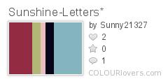 Sunshine-Letters*