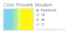 Color Proverb Wisdom