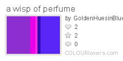 a wisp of perfume