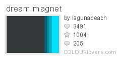 482774 dream magnet Top 100 Tasty Palettes from Colourlovers