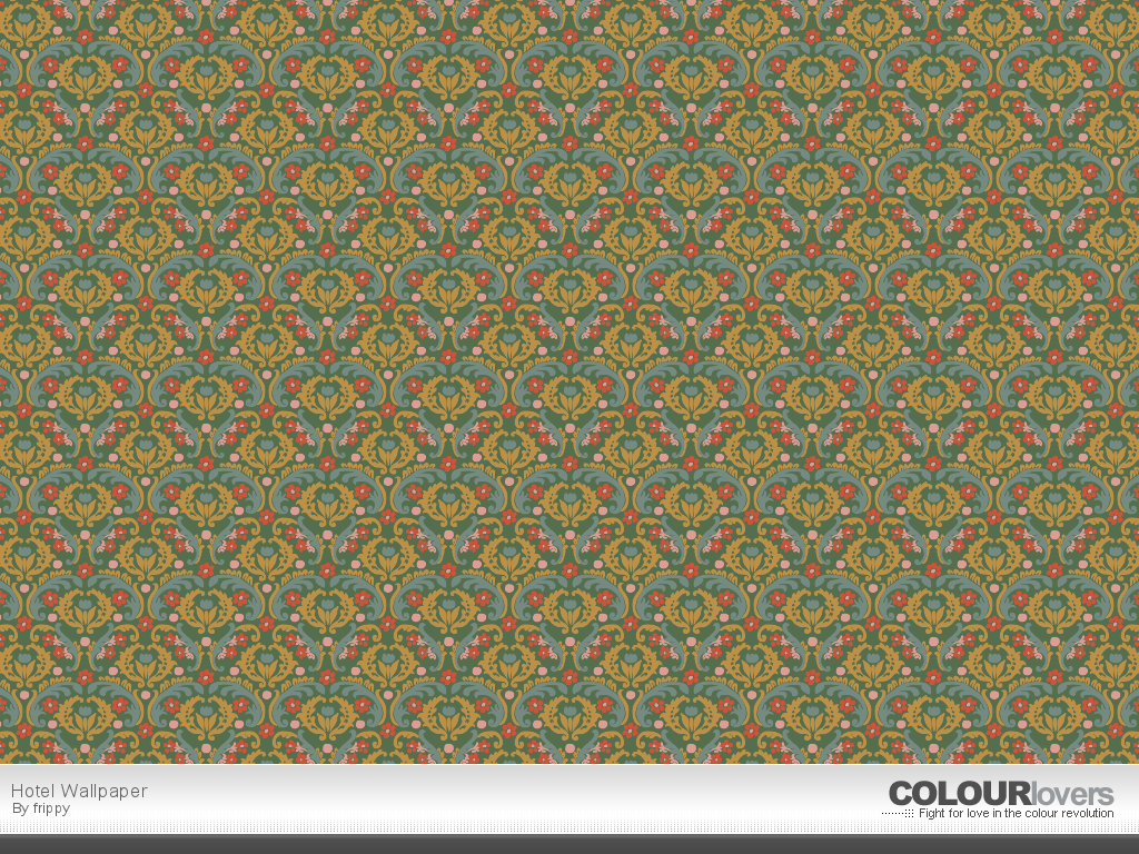 Pattern / Hotel Wallpaper :: COLOURlovers