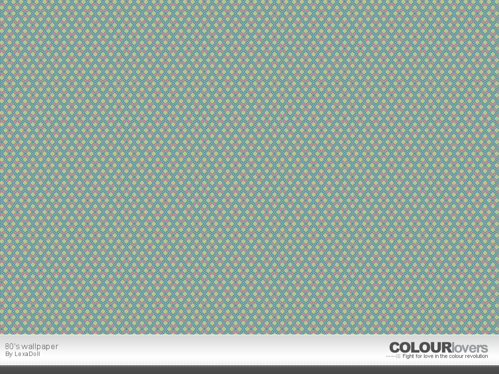Pattern / 80's wallpaper :: COLOURlovers