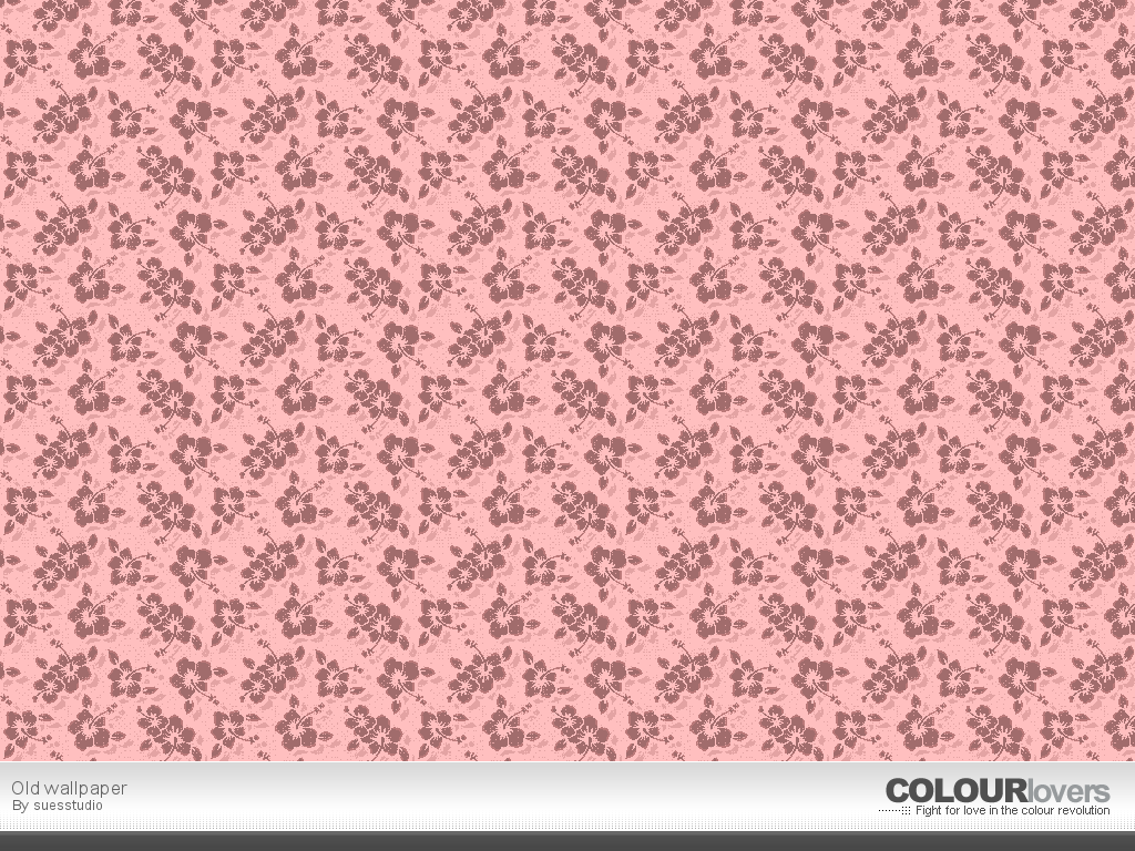 Pattern / Old wallpaper :: COLOURlovers