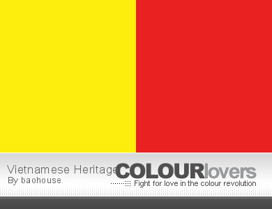 Vietnamese Heritage @ ColourLovers.com
