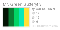 Bay Green Butteryfly
